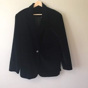 Vintage Clifford and Willis Velvet Feel Blazer